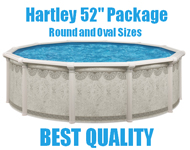 Hartley Above Ground Resin Swimming Pool