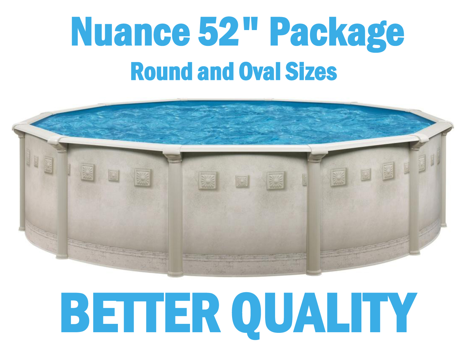 Above Ground Resin Swimming Pool Packages